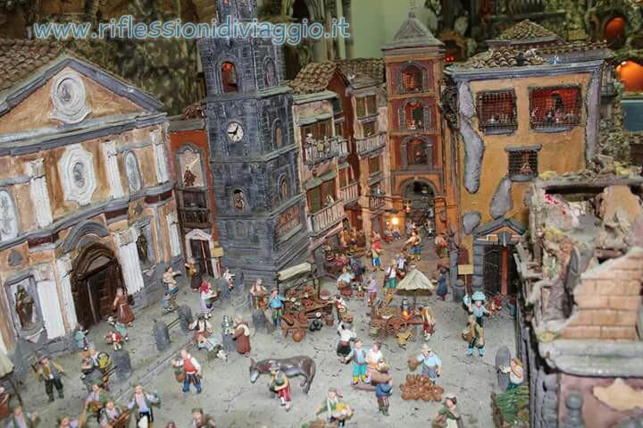 I presepi di san gregorio armeno a napoli riflessioni di viaggio - Presepi fatti in casa ...